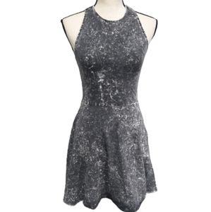 H&M Divided Distressed Tye Dye Dress